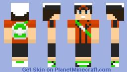 Pokemon Hoenn Boy Minecraft Skin