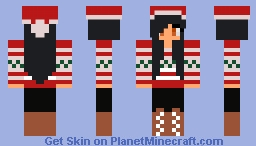 Christmas aphmau minecraft skin