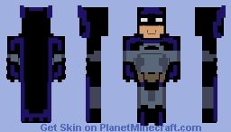 Batman - Justice League Unlimited Minecraft Skin