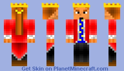 Fair King [With Story] Minecraft Skin