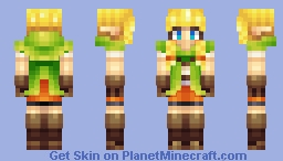 Linkle Minecraft Skin