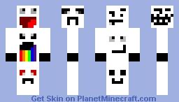 Meme Man Minecraft Skin