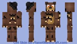 Nightmare Freddy (FNAF World) Minecraft Skin