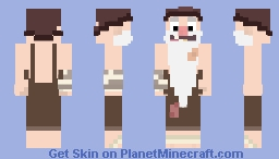 [Gravity Falls] Old Man McGucket Minecraft Skin