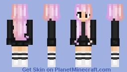 ◤Pastel Parallel ◥ -ThatGirlKate Minecraft Skin