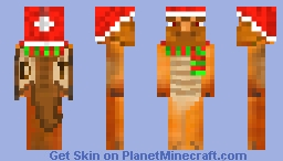 Personalized My Current Skin For Christmas Minecraft Skin
