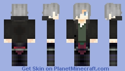 ✘Ðℯαℊℓε✘ -  Vali Lucifer (High school DxD) Minecraft Skin