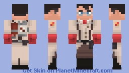 [TF2} Medic Minecraft Skin