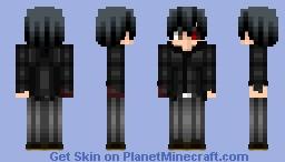 Tokyo Ghoul:Re-Kaneki Ken Minecraft Skin