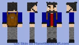 COMMISSION: Thrifty Slender Minecraft Skin