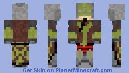 Master Yi from League of legends -=Ninjalv9000=- Minecraft Skin
