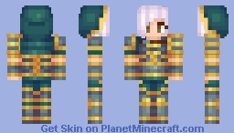 Redeemed Riven- League of Legends Minecraft Skin