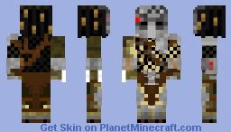 Wolf Predator Minecraft Skin