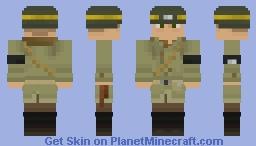 WWII Allied Military Police Minecraft Skin