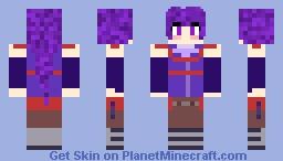 Akatsuki アカツキ - Log Horizon Minecraft Skin