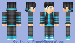 Striped (extremely old personal skin) Minecraft Skin