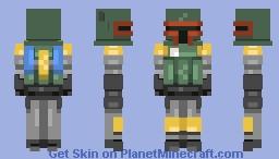 ∫ ~ Star Wars ~ Boba Fett ∫ Minecraft Skin