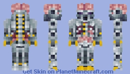 Dr. Brain [Boss Battle Skin Contest] Minecraft Skin
