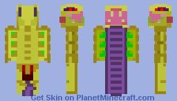 Venomancer (DOTA 2) Minecraft Skin