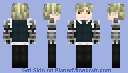 Genos - [One Punch Man] Minecraft Skin