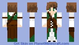 Medieval girl (old) Minecraft Skin