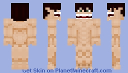 Attack on Titan - Eren Yeager Titan Form Minecraft Skin