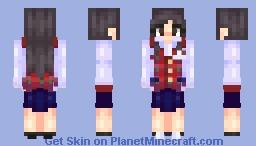 〖мσυѕє〗Disney Parks Cast Member Gal Minecraft Skin