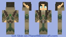 Female Elven Soldier Minecraft