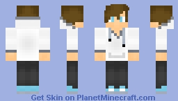 Teen Boy Minecraft Skin