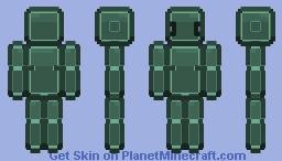 Bob the friendly robot Minecraft Skin