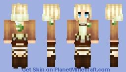 Attack on Titan - Annie Leonhart Minecraft Skin