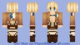 Attack On Titan - Armin Arlert :D Minecraft Skin