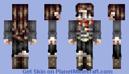 A redo of my first skin ever Minecraft Skin