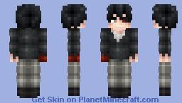 Kaneki Ken | R.I.P Hair Minecraft Skin