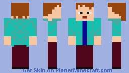 The skin I always wanted if I was premium Minecraft Skin