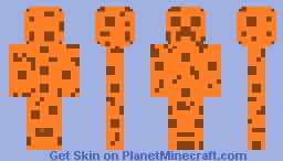 Chocolate Chip Creeper Minecraft Skin