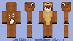 Reindeer Boy Minecraft Skin
