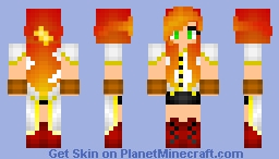 𝓖𝐹𝓢 ~ Old Laurence [Gender Swapped!] Minecraft Skin