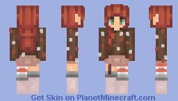 Ɱȯɀ   Christmas? Candycane? Idk, its something. (ツ)_/¯ Minecraft Skin
