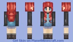 Ɱȯɀ   Rest in Pepperoni's fam ~Read Desc~ Minecraft Skin