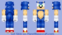 Sonic (Old skin) Minecraft Skin