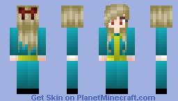 Fallout Anime Girl Minecraft Skin