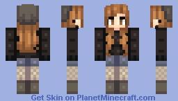 Winter-y Minecraft Skin