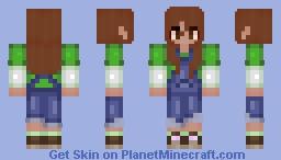 I really like overalls :3 Minecraft