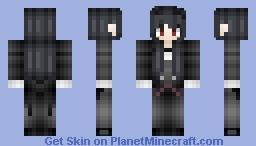 Black Butler - Female! Sebastian