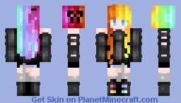 ❥ℭℴℴƙɩε ~ Rainbow Minecraft Skin