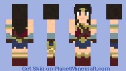 Wonder Woman (Batman V Superman) {Wonder Woman} [Justice League] Minecraft Skin
