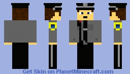 Canadian Peace Officer Minecraft Skin