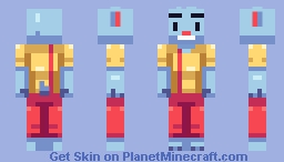 Undertale: Nice Cream Guy [Contest Entry] Minecraft Skin