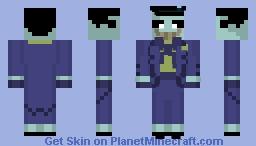 Joker (from The New Batman Adventures) Minecraft Skin